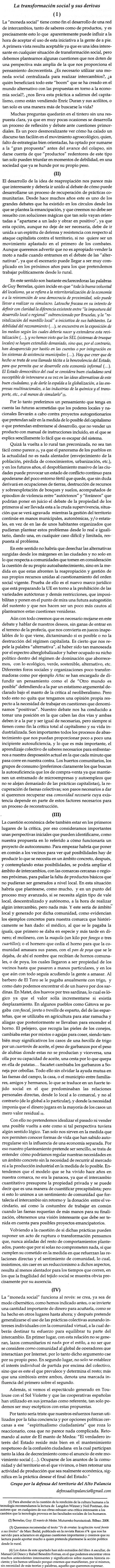 Crítica a las ecoredes 3ª parte.