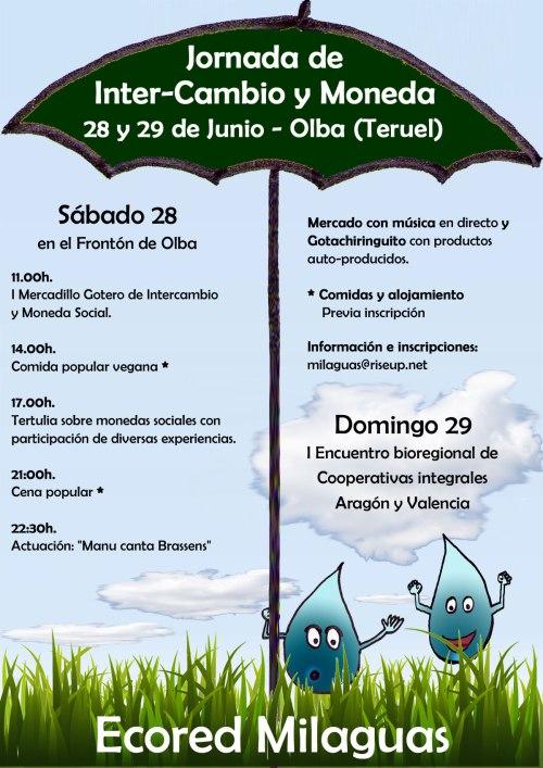 I Jornada de Inter-Cambio y Moneda Social - MercaGota, el mercado gotero.